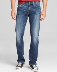 True Religion Jeans Ricky Straight Fit in Lake View - Lyst