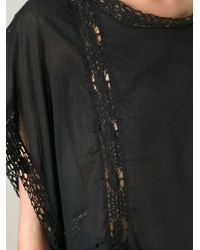 Etoile Isabel Marant Crochet Knit Details Top - Lyst