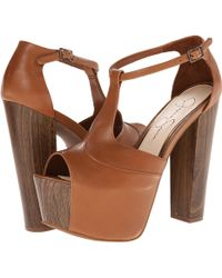 Jessica Simpson Brown Dany - Lyst