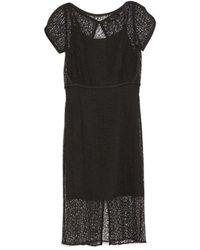 Rachel Comey Linden Midi Dress black - Lyst