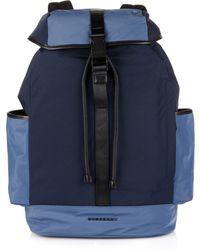 Burberry Brit - Colour-Block Nylon Backpack - Lyst