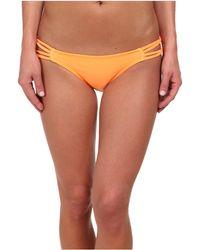 ViX Sofia By Solid Orange Rio Detail Bottom - Lyst