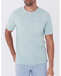 Faherty Brand - Sunwashed Pocket Tee - Lyst