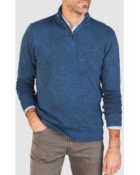 Faherty Brand - Slub Cotton Pullover - Lyst