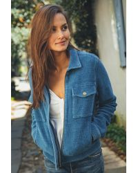 Faherty Brand - Knit Velvet Rowan Jacket - Lyst