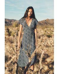 Faherty Brand - Silk Lillian Wrap Dress - Lyst