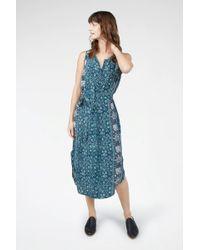 Faherty Brand - Silk Samoa Dress - Lyst