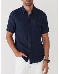 Faherty Brand - Short-sleeve Linen Laguna Shirt - Lyst