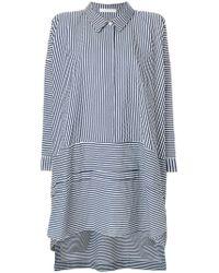 Peter Jensen - Striped Smock Dress - Lyst
