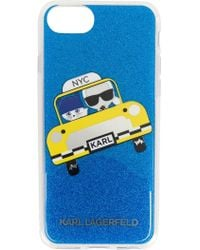 Karl Lagerfeld - Nyc Taxi Iphone Cover - Lyst