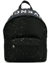 Givenchy - Rucksack mit Logo-Print - Lyst