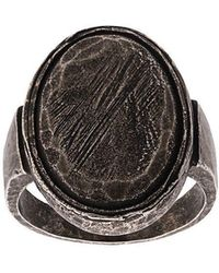 Ann Demeulemeester - Worn Effect Ring - Lyst