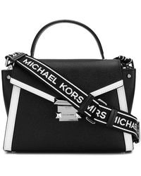 5b7e9fd77 MICHAEL Michael Kors - Whitney Medium Pebbled Leather Satchel - Lyst