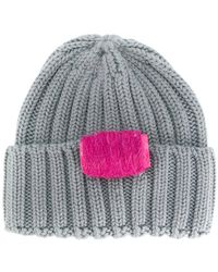 Ultrachic - Cable Knitted Beanie - Lyst