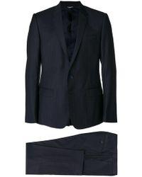 Dolce & Gabbana - Completo gessato - Lyst