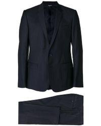 Dolce & Gabbana - Anzug mit Nadelstreifen - Lyst