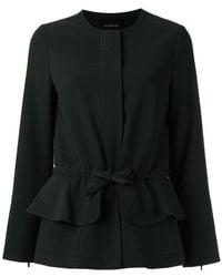 Olympiah - Tie Waist Jacket - Lyst