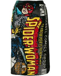 Olympia Le-Tan - Spider-woman Embroidered Skirt - Lyst