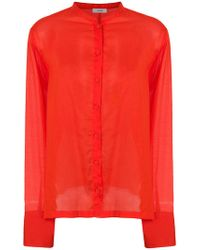 Mauro Grifoni - Tie Back Shirt - Lyst
