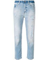 Zadig & Voltaire - Elios Destroyed Jeans - Lyst