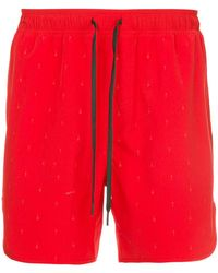 The Upside - Drawstring Waist Track Shorts - Lyst