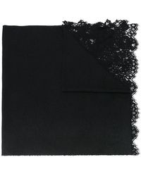 Ermanno Scervino - Lace Inserts Scarf - Lyst