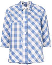 Sofie D'Hoore - Gingham-print Shirt - Lyst