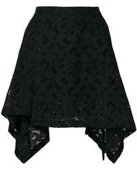 Neil Barrett - Geometric Patterned Skirt - Lyst