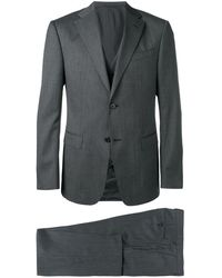 Z Zegna Three Piece Fitted Suit