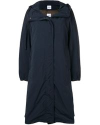 Aspesi - Concealed Front Coat - Lyst