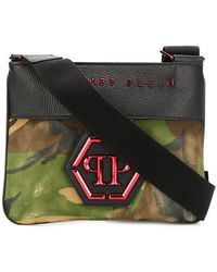 Philipp Plein - Camouflage Shoulder Bag - Lyst