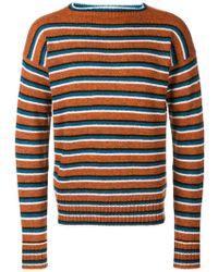6e309914ca82 Lyst - Pull en laine vierge et nylon Prada pour homme en coloris Noir