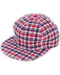 Coohem - ×ca4la Tricolour Tweed Cap - Lyst