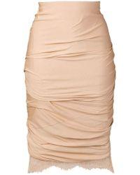 Tom Ford - Gathered Pencil Dress - Lyst