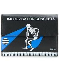Undercover - Skeleton Print Wallet - Lyst