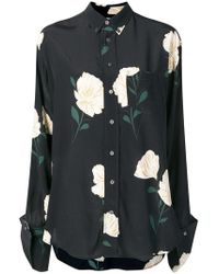 Hope - Floral Print Button-down Shirt - Lyst