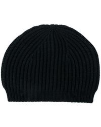 Rick Owens - Fitted Knitted Hat - Lyst