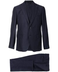 Gabriele Pasini - Embroidered Three Piece Suit - Lyst