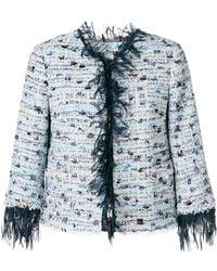 Blumarine - Distressed Style Jacket - Lyst