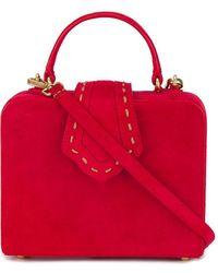 Mehry Mu - Mini Red Fey Suede Box Bag - Lyst