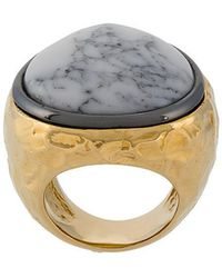Aurelie Bidermann - Marble Ring - Lyst