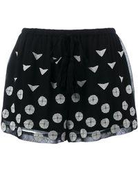 Class Roberto Cavalli - Printed Shorts - Lyst