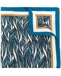 Ermenegildo Zegna - Feather Print Pocket Square - Lyst