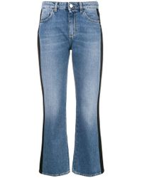 Pinko - 'Pollon' Cropped-Jeans - Lyst