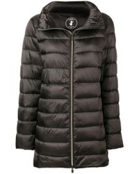 Save The Duck - Zipped Padded Coat - Lyst