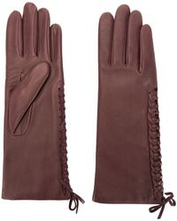 Agnelle - Gloves With Lace Detail - Lyst