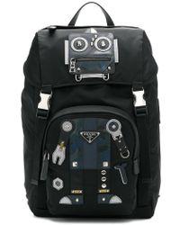 Prada - Robot Motif Backpack - Lyst