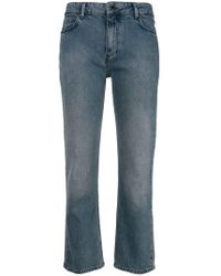 Victoria Beckham - Cropped Jeans - Lyst