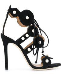 Marc Ellis - Faux Pearl Embellished Sandals - Lyst