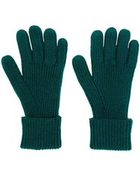 N.Peal Cashmere - Ribbed Knitted Gloves - Lyst